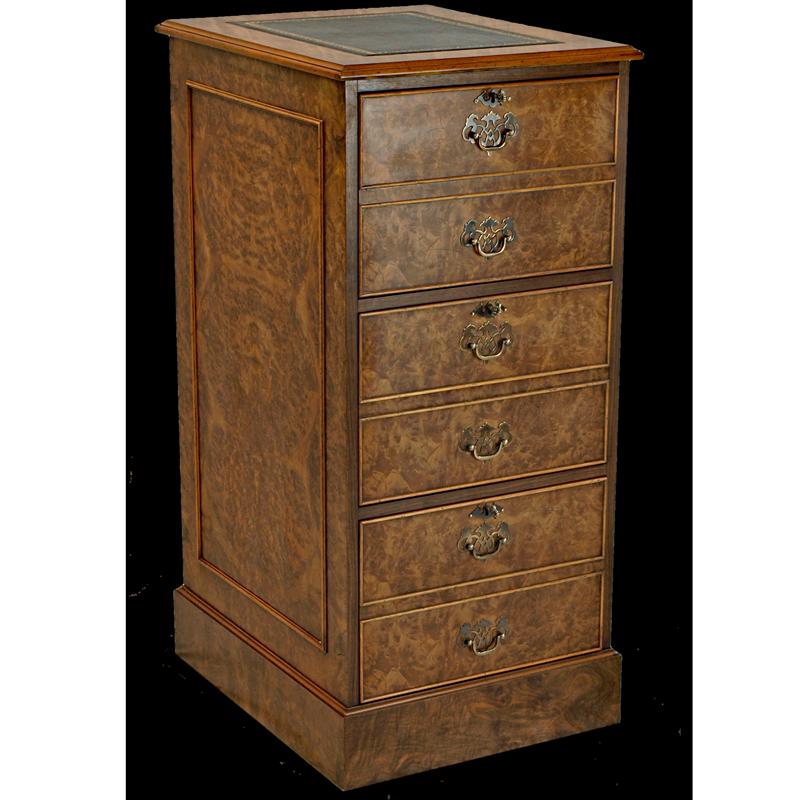 yew filing cabinets, mahogany filing cabinets, traditional