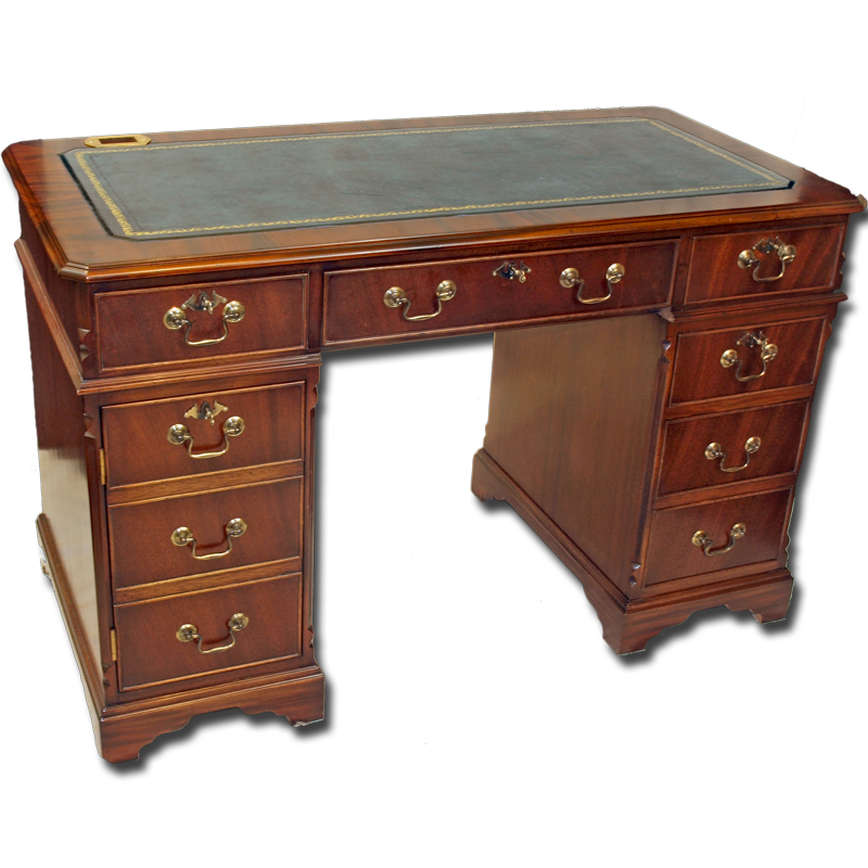 4 x 2 quality reproduction regency computer desk for Replica furniture uk