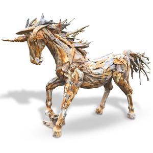 Teak Root Animal Sculptures Unique Wooden Animals For Your Garden