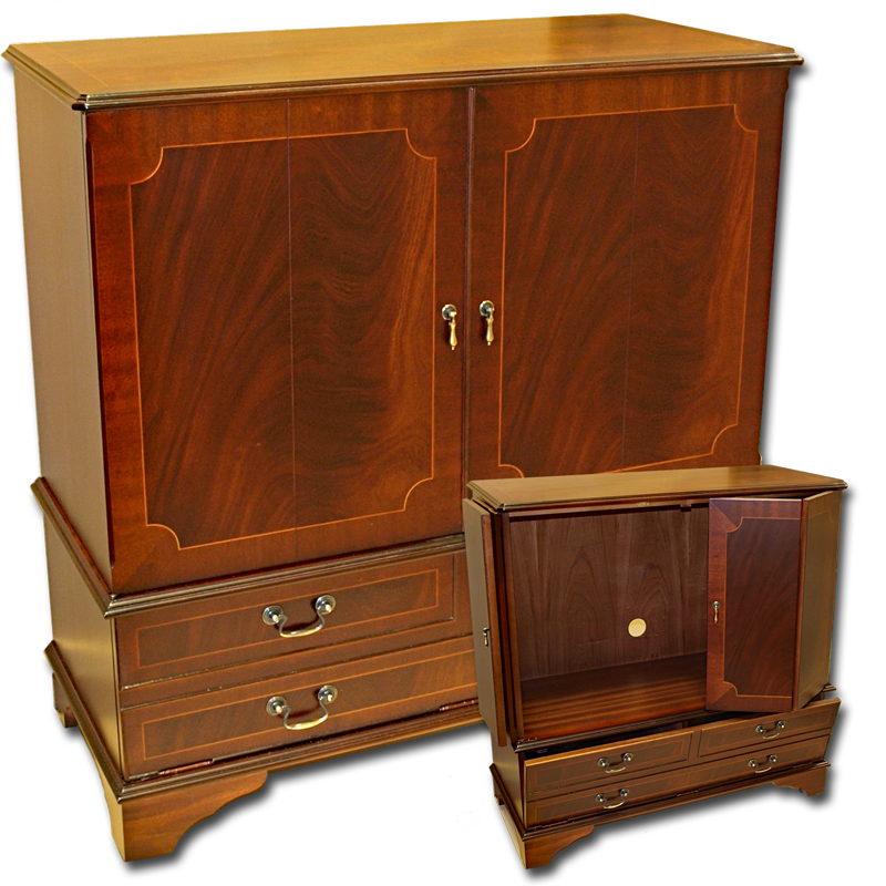 tv furniture cabinets enclosed tv cabinet 27354