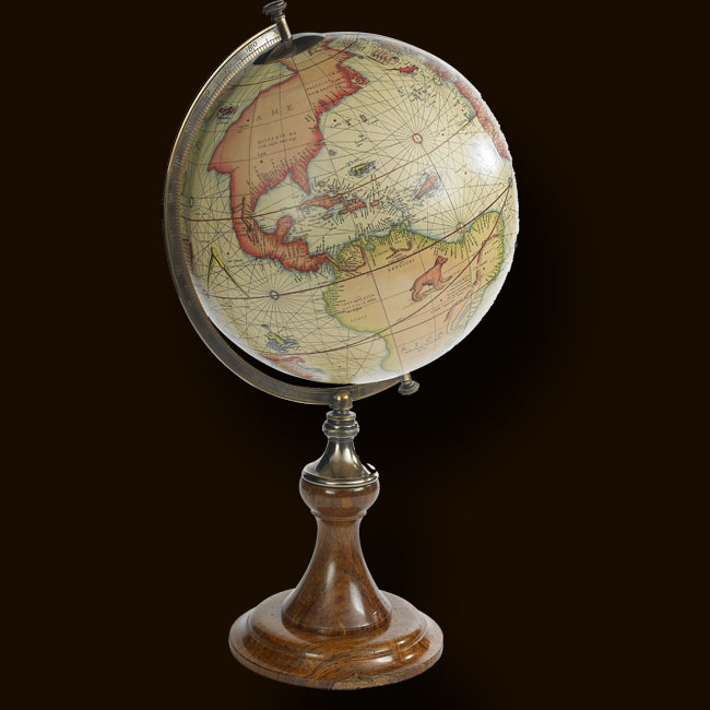 Desk Globes By Marshbeck Interiors