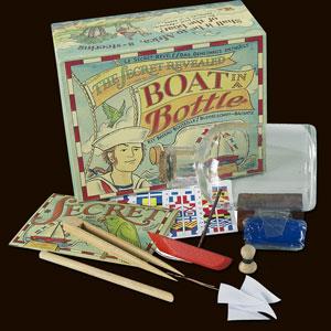 Authentic Models Boat In A Bottle Kit
