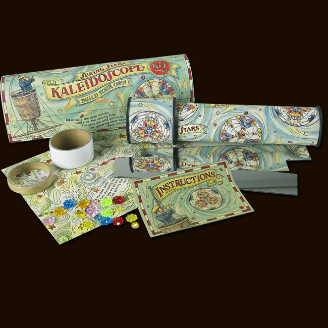 Kaleidoscope Kit By Authentic Models For Kids