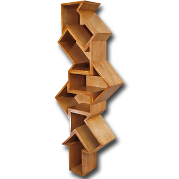 Arrow Modular Bookcases - Oak