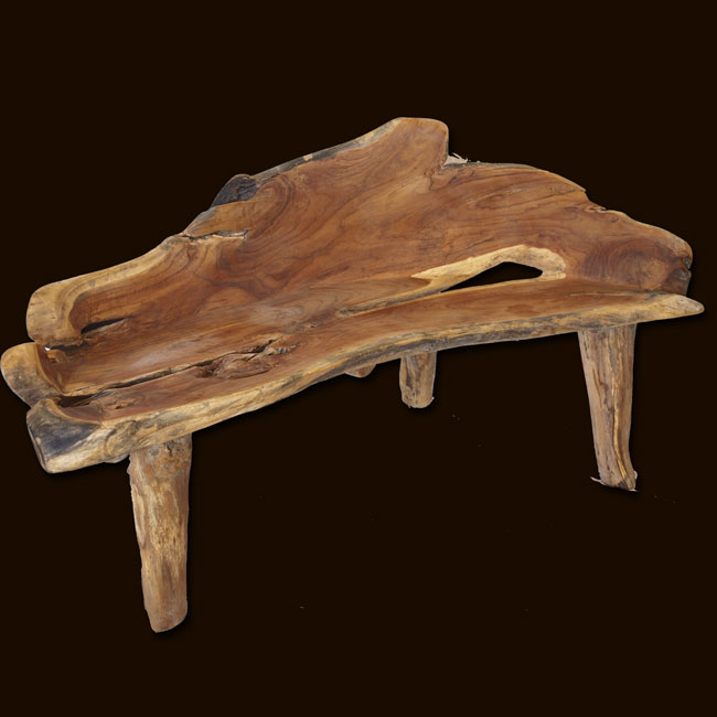 Tremendous Teak Root Garden Bench Squirreltailoven Fun Painted Chair Ideas Images Squirreltailovenorg