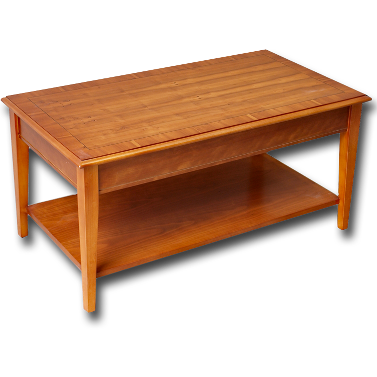 Yew Glass Topped Coffee Table: Reproduction Sheraton Coffee Table In Yew Or Mahogany