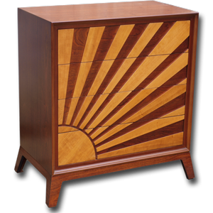 Mahogany & Cherry Sunrise Chest