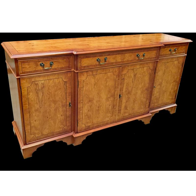 7 39 regency breakfront sideboard for Replica furniture uk
