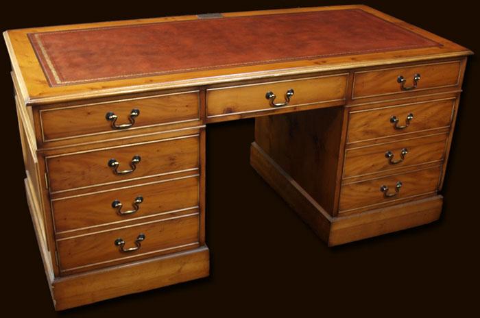 Large Antique Reproduction Computer Desk