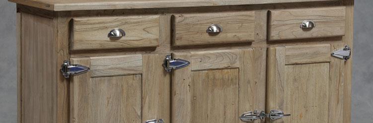 Reclaimed Solid Elm Wood Furniture