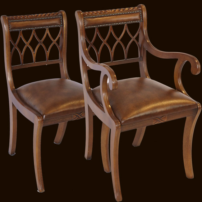 Reproduction Hourglass Dining Chair