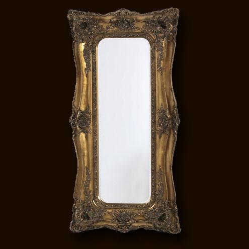 Marshbeck ltd tall gold classic mirror for Tall gold mirror