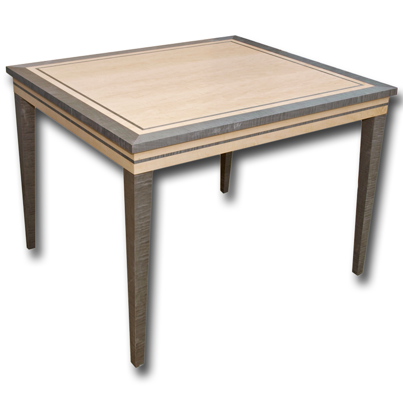 Ref Besp57 Using Items From Our Marshbeck Deco Collection Range We Were Asked To Produce This Art Inspired Small Dining Table Spec