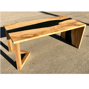 Live Edge Solid Wood Resin River Tables River Coffee Tables