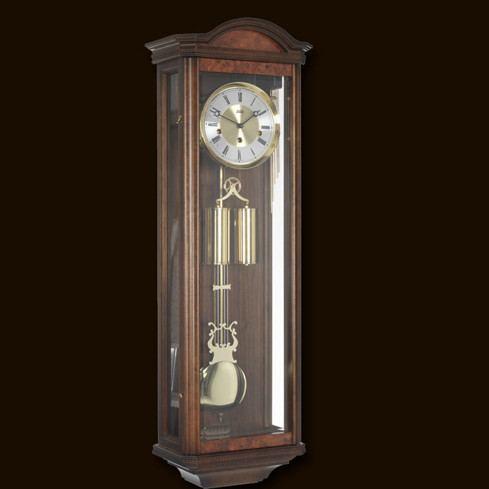 Billib Portland Walnut Wall Clock