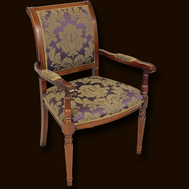 Marshbeck ltd empire dining chair for Replica furniture uk