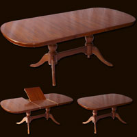 Self Storing Extending Dining Tables