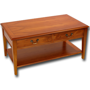 Marshbeck Yew Mahogany Reproduction Furniture Coffee Tables