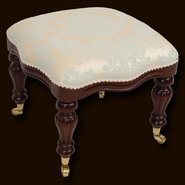 Marshbeck Ltd Reproduction Victorian Footstool Small