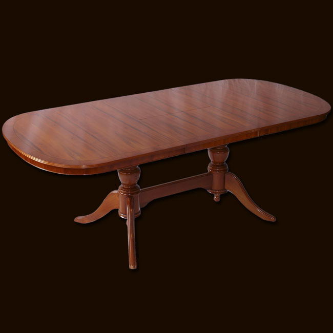 Reproduction 78 x 36 Extending Dining Table in Yew  : yewdiningtablebig from www.marshbeckreproductionfurniture.co.uk size 650 x 650 jpeg 25kB